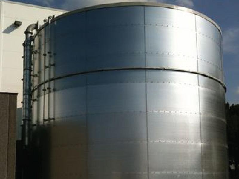 Sprinkler Tank Installation
